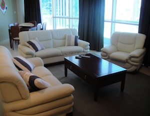living room interior decor Sava tower JLT