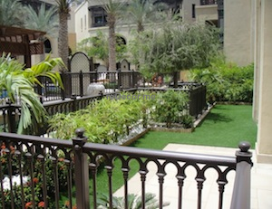 Garden landscaping dubai old town ideas