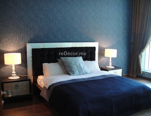 Master bedroom interior design dubai, palm jumeirah, oceana, consultation, luxurious design