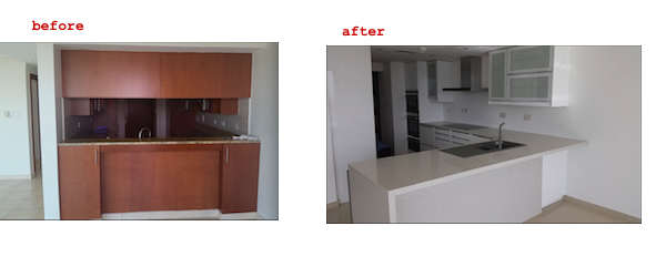 kitchen fit out, dubai, design, remodelling, renovations, greens, fairways, modern kitchen