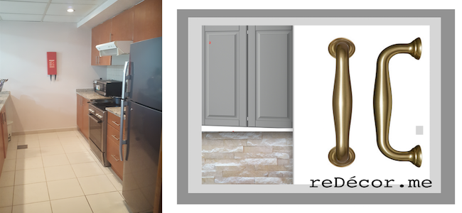 kitchen remodelling dubai, grey design, white marble, stone wall, renovation in greens kitchen