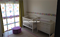 nursery decor design dubai, gilrs rooms decor and design, room fit out, wallpaper, design, kids rooms, dubai