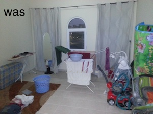 messy room redecor to kids room