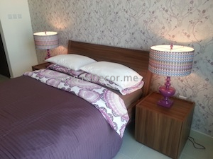 cozy lady interior decor bedroom, luxurious living in Downtown, dubai interior decor consultation