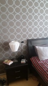 bedroom wallpaper, decor, dubai marina
