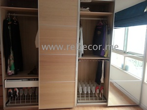 wardrobe makeover greens carpentry dubai design interior