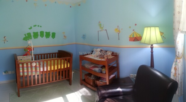 beautiful nursery for a boy