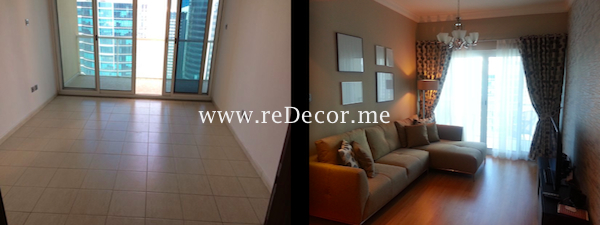 Living room interior decor (was and now)