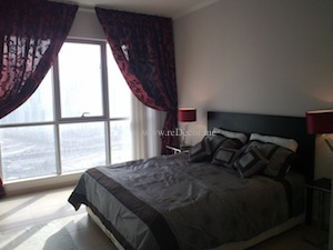 red and grey black interior decor bedroom