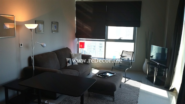 Furnishing solutions for 1 bedroom apartment in Marina