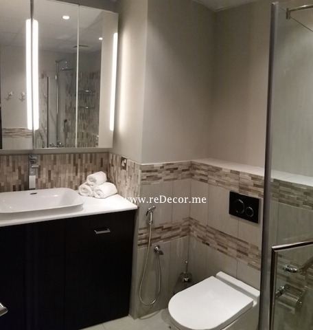 Master bathroom remodelling and guest upgrade redecorme for Bathroom interior design dubai