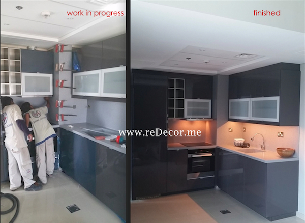 kitchen remodelling Dubai interior decor
