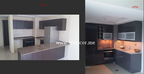 Kitchen remodelling in Dubai