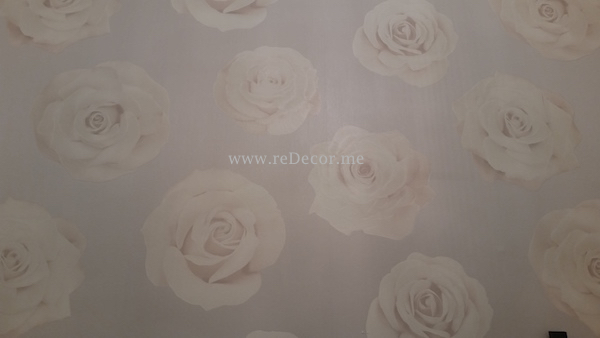 wallpaper flowers roses for dressing room