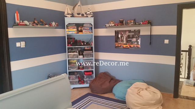 Kids rooms Interior decor, Blue interior for boy's room in Dubai