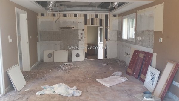 old kitchen remodelling in Meadows, Dubai, construction, turn key solutions