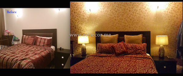 elegant golden decor wallpaper dubai