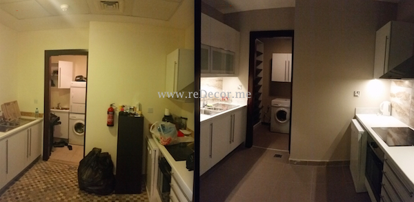 Kitchen make over Dubai, interior decor