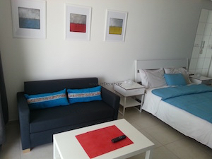 Small studio Ikea interior decor solutions Dubai, JLT, Ikea living