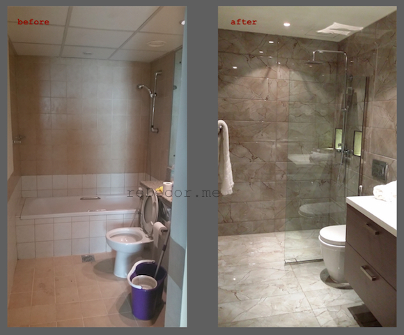 Bathroom renovations remodelling design in dubai redecorme for Bathroom interior design dubai