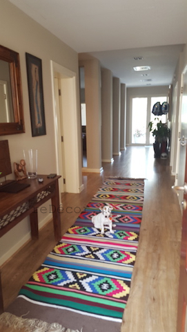 bedouin kilims, hallway interior decor, design, consultation, custom furniture, traditional living room, pastel colours, family, Arabian Ranches, Dubai