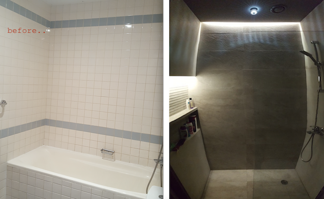 bathroom Fit out works bathroom, remodelling, decor, design, dubai, walk in shower instead bath tube