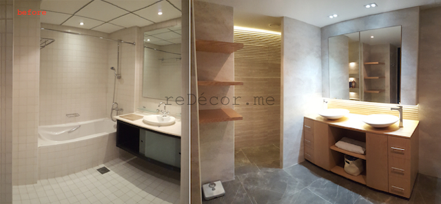Bathroom Makeovers Dubai large luxurious bathroom remodelling in dubai | redecorme