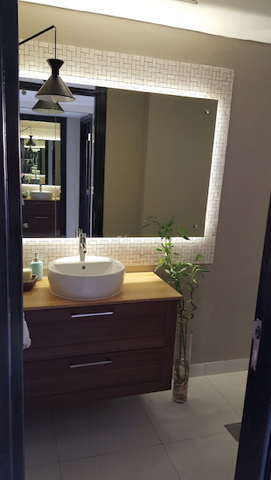 dubai bathroom fit out, remodelling, Master, 2nd bedroom and guest room bathroom remodelling, fitout dubai, bathroom fitout, design, consultation, practical, sliding shower doors, mirror cabinets